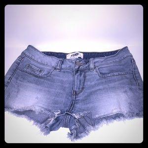 🔻Final✂️ Victoria's Secret PINK denim shorts sz 2